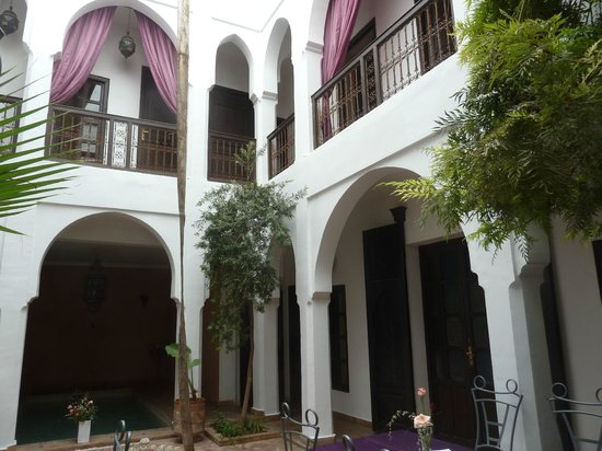 Riad Alwane : Le patio
