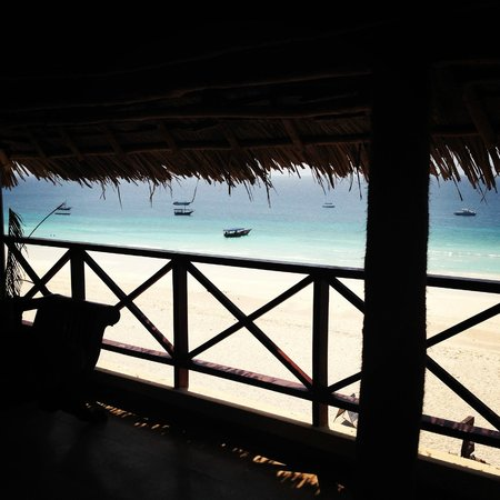 The Z Hotel Zanzibar: The view from our top suite