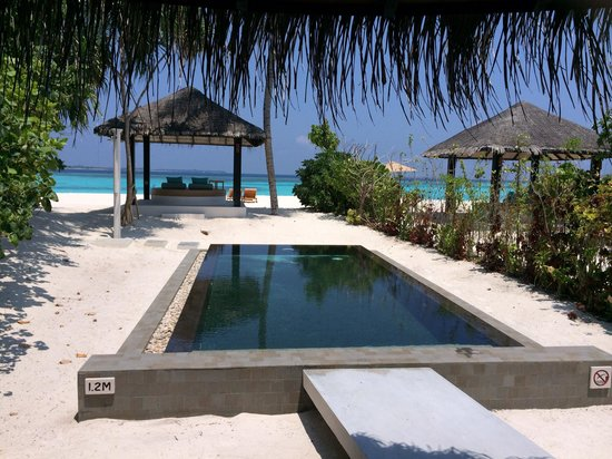 The Sun Siyam Iru Fushi Maldives: Russell and tasha