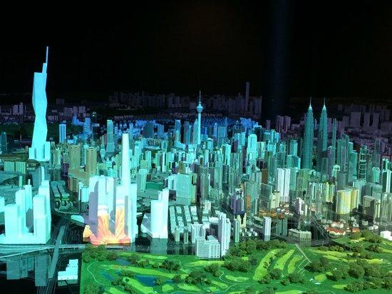 Kuala Lumpur City Gallery: город в миниатюре
