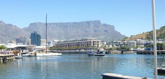 cape grace and table mountain