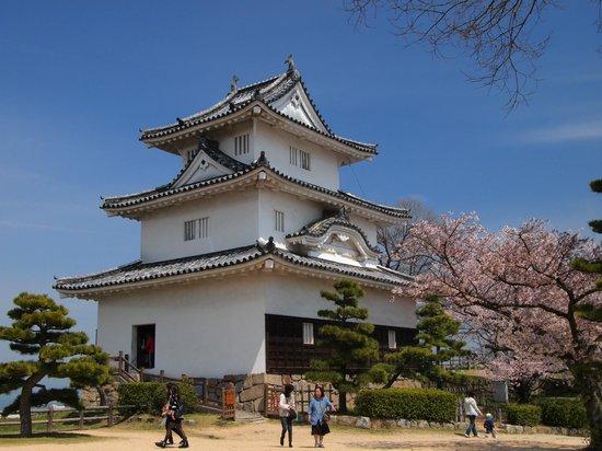 Marugame Castle: 天守閣