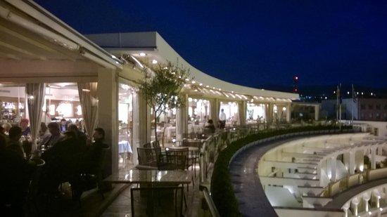 Electra Palace Thessaloniki : terrace