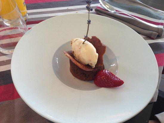 Restaurant JOANTO : coulant chocolat