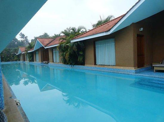 SAJ Earth Resort: pool area