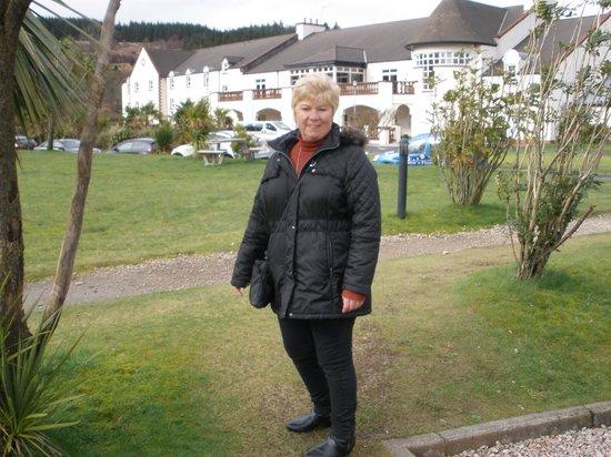 Auchrannie Spa Resort : Ourside Hotel