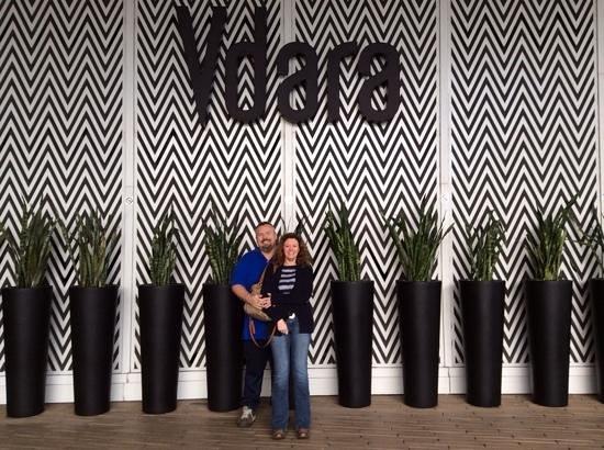 Vdara Hotel & Spa: us at the vdara