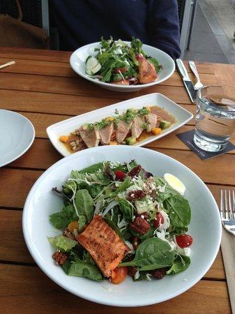 Cactus Club Cafe: Raincoast Greens Salad and Tuna Tataki