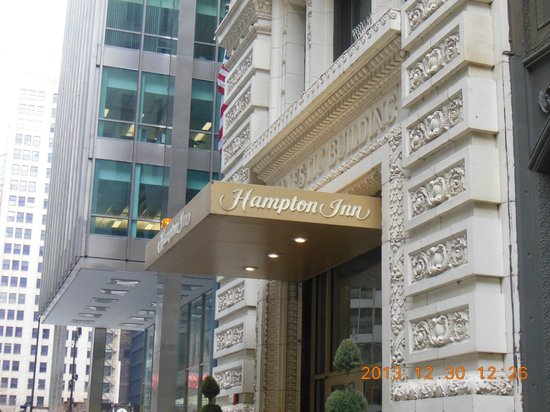 Hampton Majestic Chicago Theatre District: ホテル入口