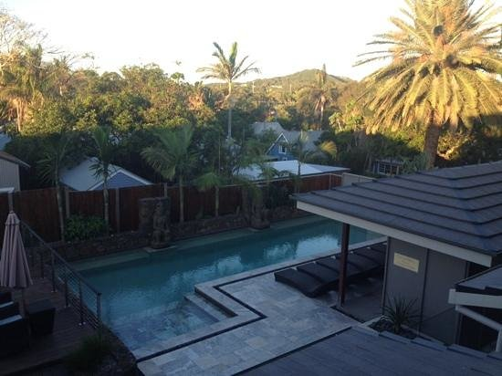 Aabi's at Byron: view of pool