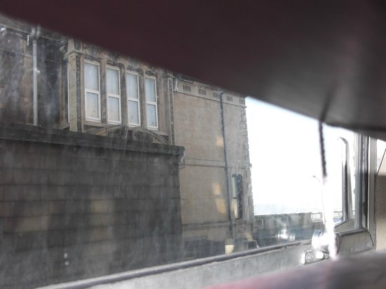 The York Hotel: Can just about see a part of the pier.