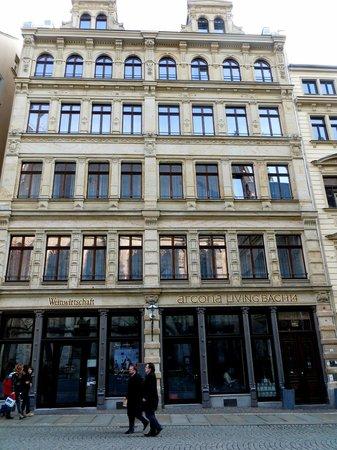 Weinwirtschaft Leipzig: Restaurant im historischen Gebäude
