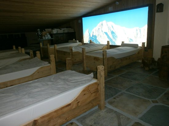 Bellevue Hotel & Spa : area relax