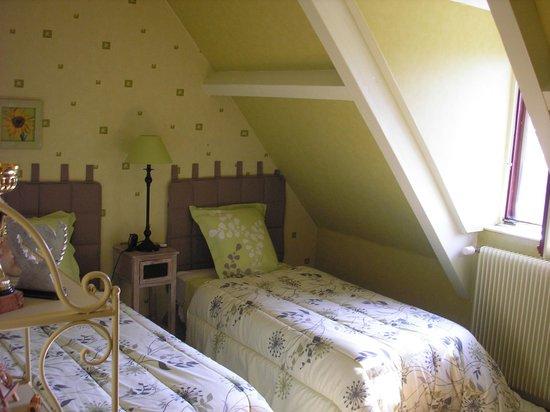 Saone-et-Loire, ฝรั่งเศส: Annexe chambre Hellebore double couchage