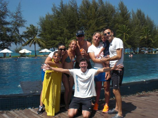 Grand West Sands Resort & Villas Phuket: With the Staff of Carpe Diem