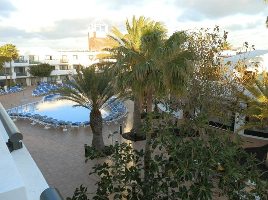 Be Live Experience Lanzarote Beach: Pool area from room
