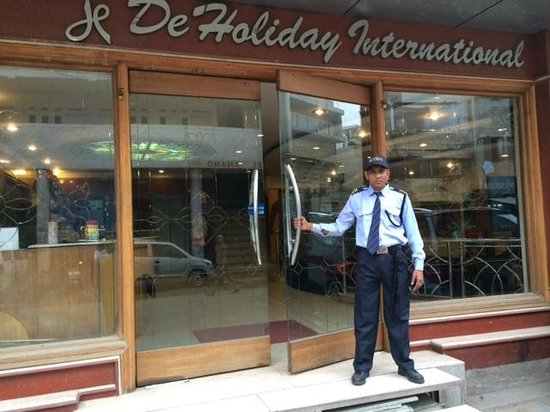 Hotel De Holiday International: Main entrance