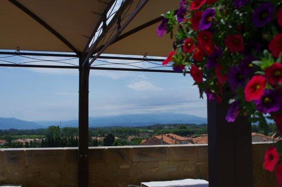 Hôtel RestaurantCara Sol : terrasse panoramique