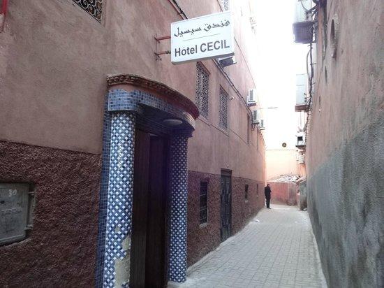 Hotel Cecil Marrakech: 外観