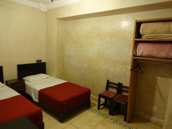 Hotel Cecil Marrakech: 部屋