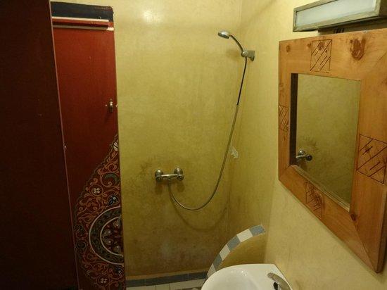 Hotel Cecil Marrakech: シャワー