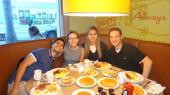 Breakfast With Friends At Friendly Denny S