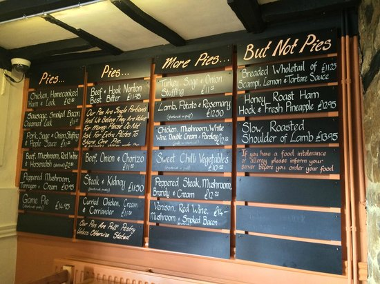 The Crown & Tuns - Puddingface, The Pie Place: Pie heaven!