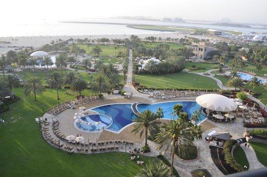 Le Royal Meridien Beach Resort & Spa: Вид на море из номера sea view