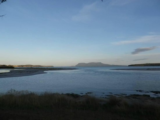 Blue Waters Hotel: Imagine waking up to this, when you stay at Orford Blue waters! Beautiful...