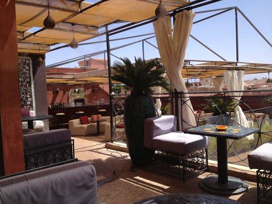 Cafe Arabe: La terrasse