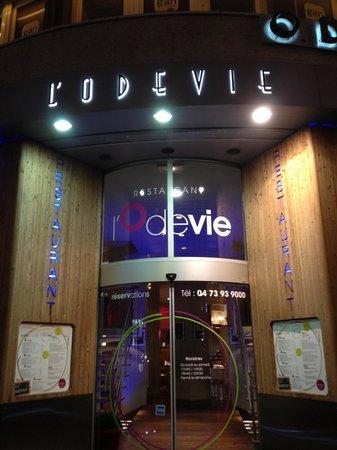 L'Odevie: L'entrée du resto