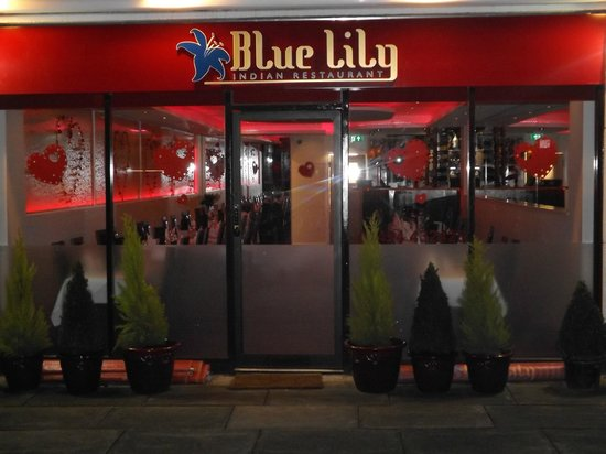Blue Lily: Front Of Restaurant