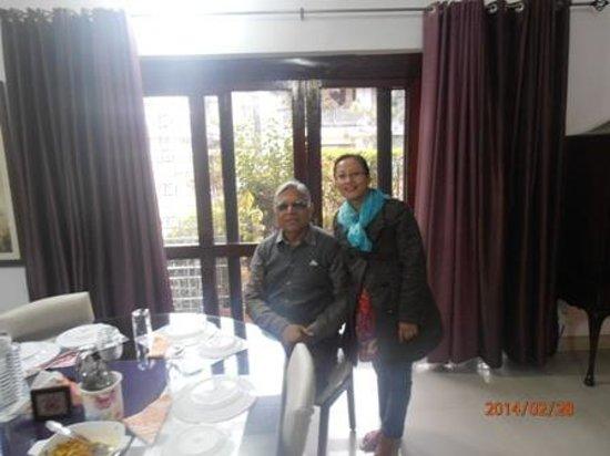 Darshan Home Stay: With Mr. Walia