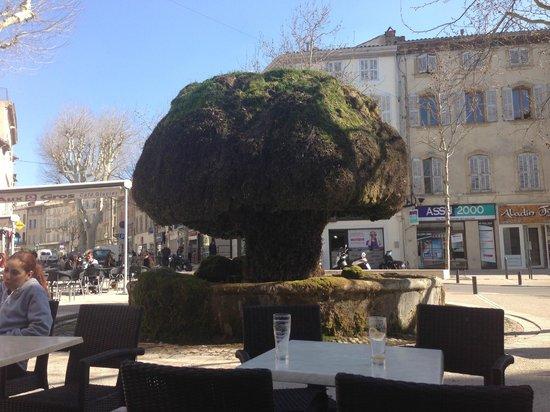 Fontaine moussue picture of fontaine moussue salon de for Hotel du theatre salon de provence