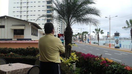 Barcelo Colon Miramar: Vista desde el restaurant