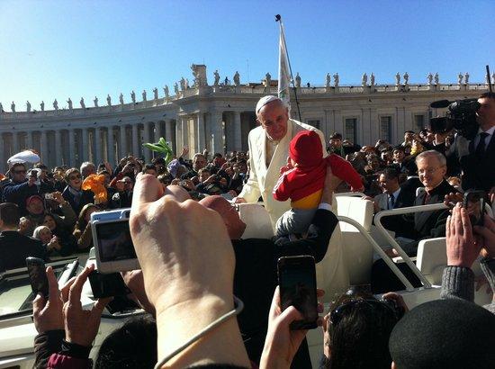 Vatikanische Museen (Musei Vaticani): В среду на площади Ватикана !