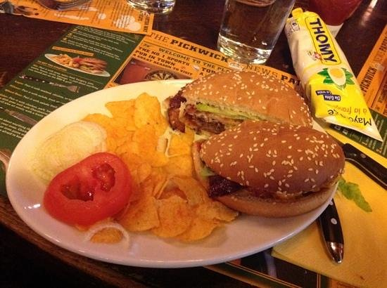 Mr. Pickwick Pub : Pickwick Burger