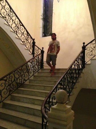Piedra de Agua Hotel Boutique : La scalinata che porta ai piani