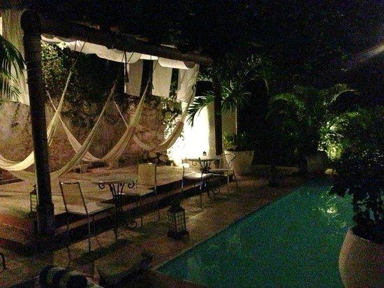 Piedra de Agua Hotel Boutique : La piscina