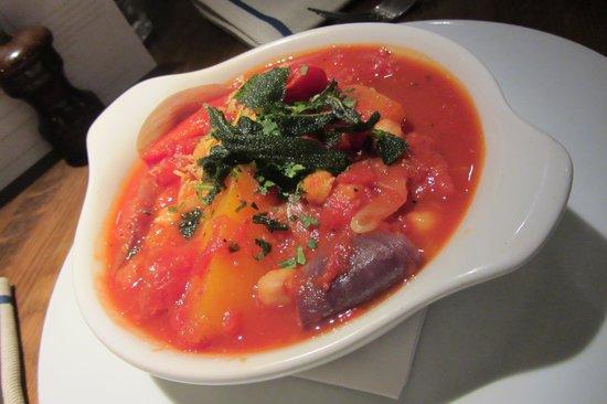 Quod Restaurant & Bar: Butternut squash & chickpea tagine