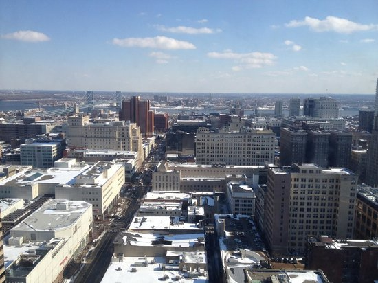 Loews Philadelphia Hotel: View from my room