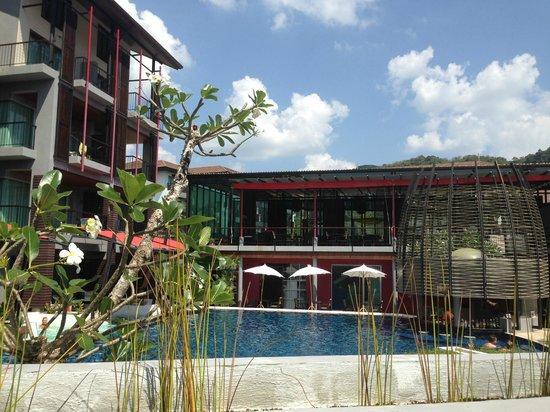 Red Ginger Chic Resort: Innenhofbereich