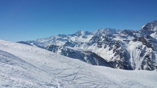 San Domenico Ski : Panorama da 2500 mt di quota