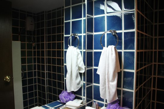 Villa Cha-Cha: Not impressed with the dark bathroom that flooded after each shower. Expecting more for the pric