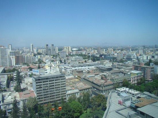 RQ Santiago: Vista da janela do quarto