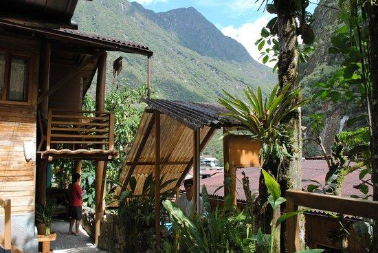 Rupa Wasi  Lodge : Vista del acceso a la habitacion