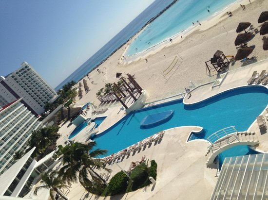 Krystal Cancun: view from room 1455