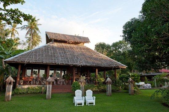 Agohay Villa Forte: The restaurant in daylight