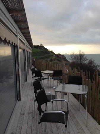 La Sorgente Resort: Veranda ristorante