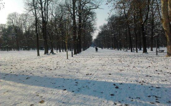 Parco Ducale: Parque com muito frio